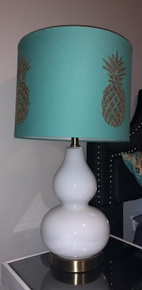 white and brown table lamp Conway, 29527
