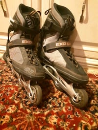 K2 inline rollerblades size adult 10 good conditio