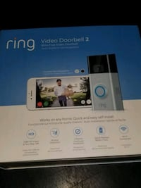 The Ring 2 - -Video Doorbell