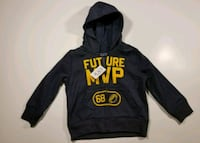 black and yellow The North Face pullover hoodie Waldorf, 20603