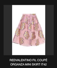 women's pink and white floral skirt Toronto, M1W 2S8