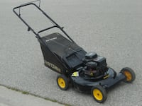"""20"""" YARD PRO SERIES LAWNMOWER 4.5HP, 148CC BRIGGS AND STRATTON ENGINE 4 STROKE GAS WITH REAR BAG! Mississauga"""