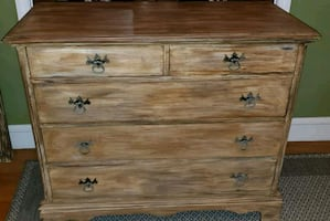 Dresser Mahogany Antique