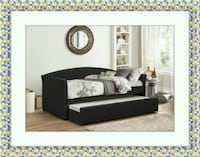 Daybed black free mattress and delivery  Gaithersburg