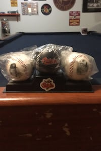 Cal Ripken Commemorative ball set,$15,Balls still in wrappers. Clifton, 20124