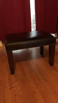 Leather Ottoman from Pottery Barn Chicago, 60614