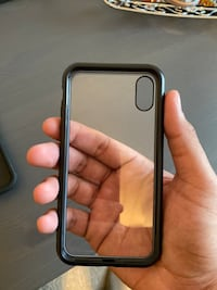 Glass case for IPhone X / XS Laurel, 20707