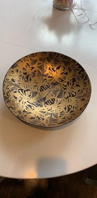 gold embossed leather bowl Bethesda, 20814