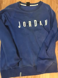 blue and white Nike pullover hoodie Mississauga, L4T