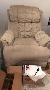 brown fabric recliner sofa chair Gainesville, 32606