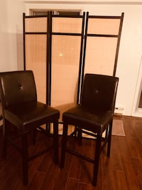 2 Chaise style bistro - 2 high chairs for sale Dollard-des-Ormeaux, H9B 2M4