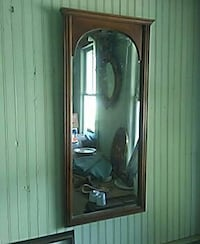 brown wooden framed wall mirror Edenton, 27932