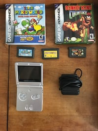 Gameboy Advance Sp and games Toronto, M6H 2X1