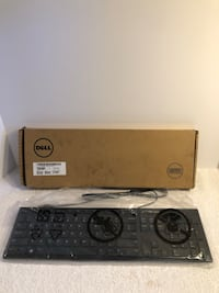 Dell KB216-BK-US Slim Multimedia USB Wired Keyboard Las Vegas, 89104