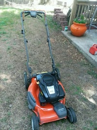 red and black push mower The Woodlands, 77381