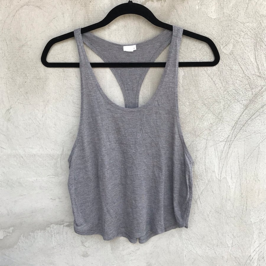 Garage Grey Muscle Tank