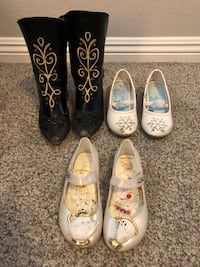 3 pairs of Disney Girl Shoes / Boots - Size 11 Las Vegas, 89138