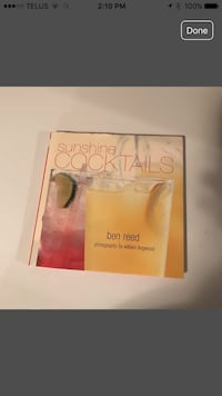 Sunshine Cocktails by Ben Reed book. Calgary, T3G 3Y9