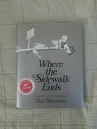 """""""Where the Sidewalk Ends"""" 40th Anniversary Edition Sterling, 20164"""