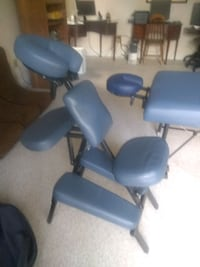 Oakworks Massage table and NRG chair