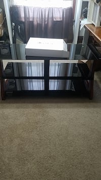 black wooden 3-layer TV stand Columbus, 43223