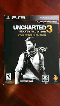 Uncharted 3 Collector's Edition PS3 Hyattsville, 20782