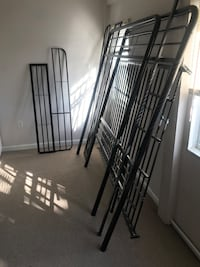 black metal folding bed frame Washington, 20001
