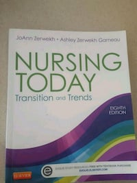 Nursing Today - transition and trends 8th edition Nashua, 03063