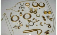 Bulk lot of gold jewelry  Villawood, 2163