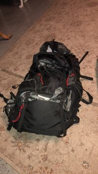 black and red hiking backpack Rockledge, 32955