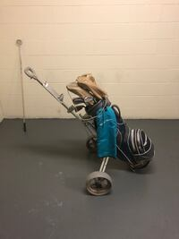Set of RH clubs and cart Surrey, V3V 7L9
