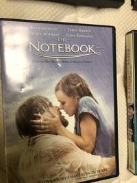 The Notebook DVD Ashburn, 20147
