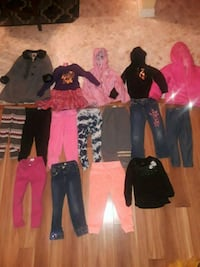 Girls clothing size 4 to xs  4/5 all for 25