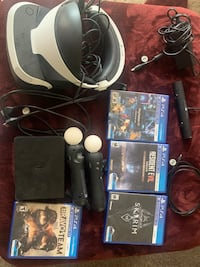 Playstation VR (IT COMES WITH EEVERYTHING IN THE PICTURE)