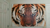 Canvas Tiger print Las Vegas, 89113