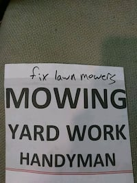Yard mowing 35 most yards Oklahoma City, 73107