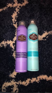 Two Hask dry shampoos