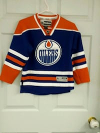 blue, red, and white jersey shirt Edmonton, T5L 0S3