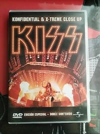 Kiss konfidential y x-treme close up estuche de DVD Massamagrell, 46130