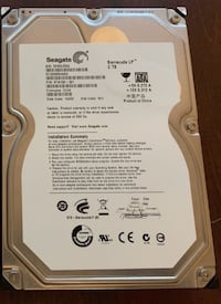 "2TB Seagate Barracuda LP internal hdd (3.5"" ) Toronto"