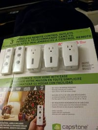 3 Wireless Remote Control Outlets Phoenix, 85021