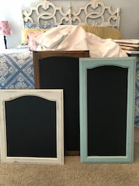 XL size chalkboards. I can paint one any color for $5 more.  2286 mi