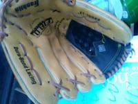 pair of brown leather baseball mitts Edmonton, T6J 4R6