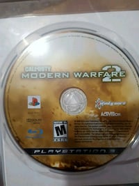 PS3 Call of Duty Modern Warfare 2 game disc Oakbank, R0E