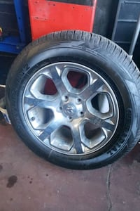 275 60 r 20 1 dodge ram rim and tire