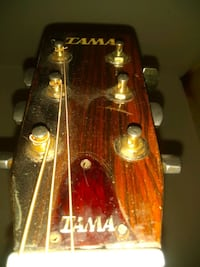 "Tama acoustic guitar. 1974 ""lawsuit"" . Vintage, collectable."