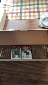 1986 Tops complete baseball Card Set in good condition 292 mi