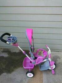 toddler's pink and white push trike Lawrenceville, 30043