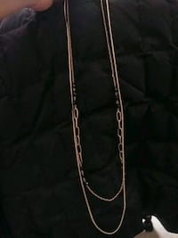 NEW. Gold Toned Long Necklace. Everything is negot Edmonton, T5B 3P5