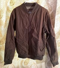 OLD NAVY BRAND MEDIUM BROWN BOMBER JACKET SURPLUS TYPE R12 Broomall